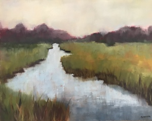 Rhonda Gardner - Image: Morning MarshRhonda Gardner is an oil painter who moves between representational, impressionistic and abstract subjects.