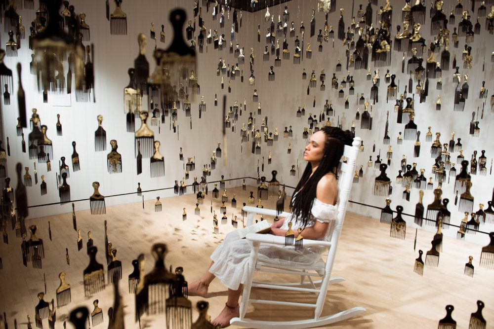 "Eleanor Kipping, ""Strange Fruit,"" installation and performance"