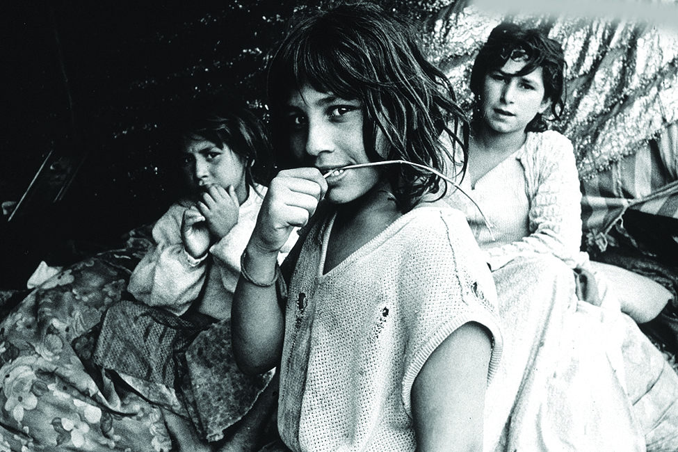 Gypsy Girl  , South American Portfolio © 1970 Carol Ginandes www.carolginandes.com