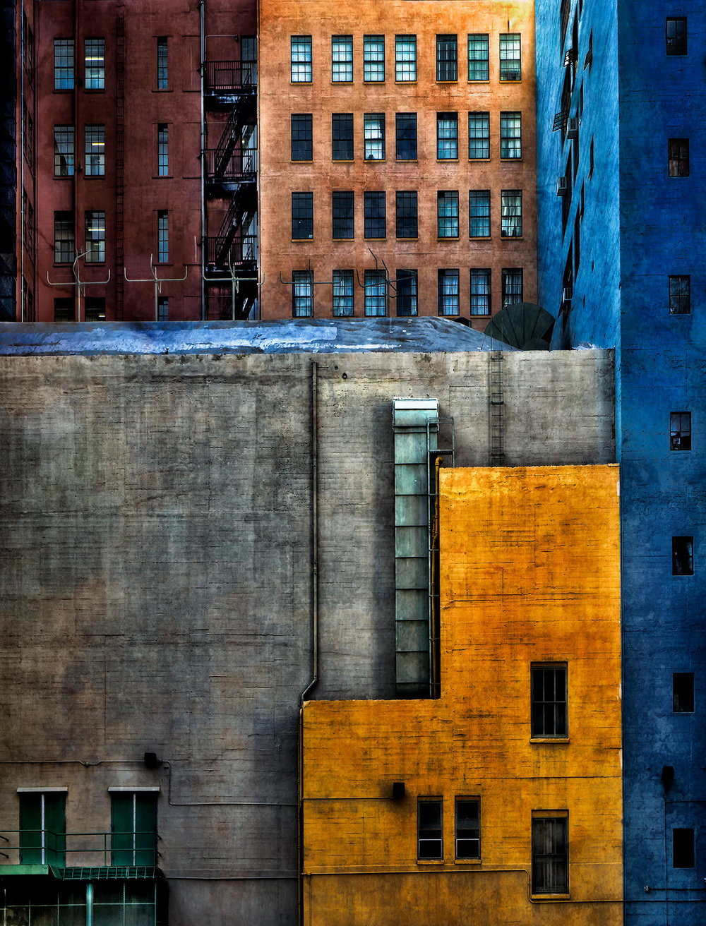 Greene,  Abstract Architecture #3