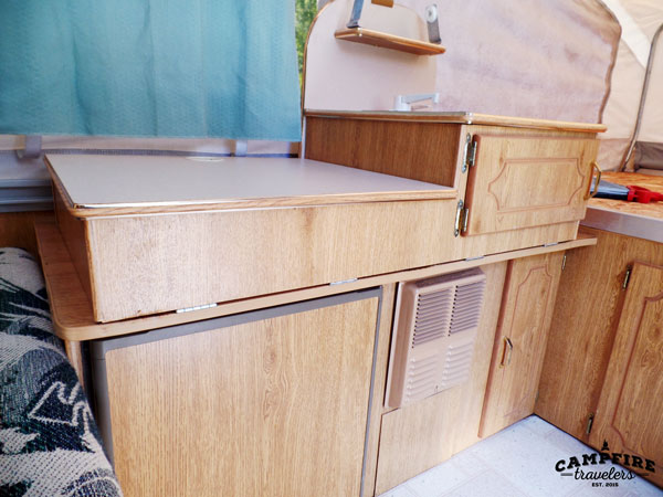 Painting RV cabinets — Campfire Travelers