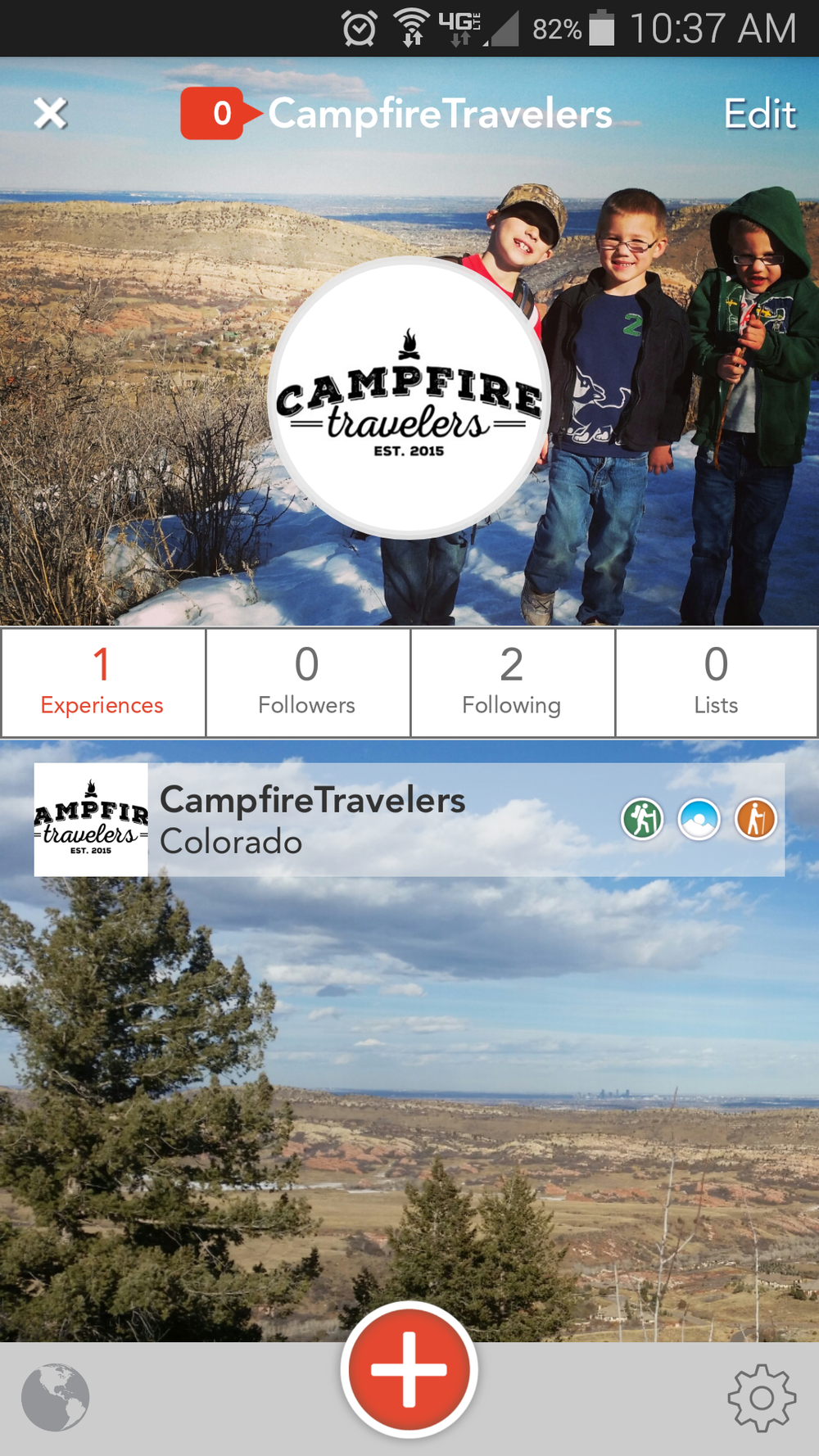 Campfire Travelers - Yonder app