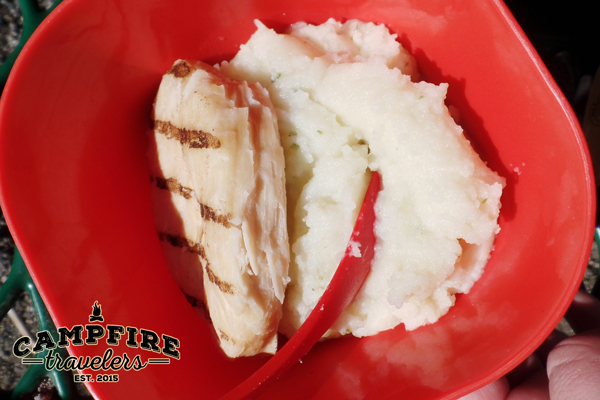 Campfire Travelers - Mountain House Chicken and Mashed Potatoes