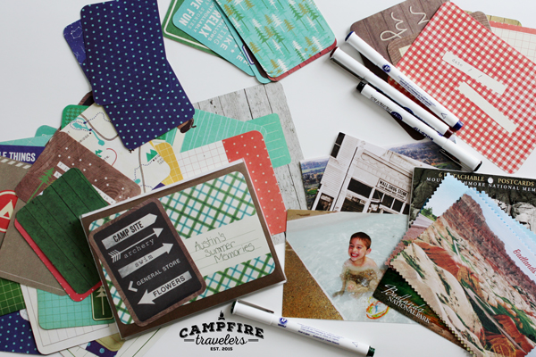 Campfire Travelers - The 5 minute kids travel scrapbook