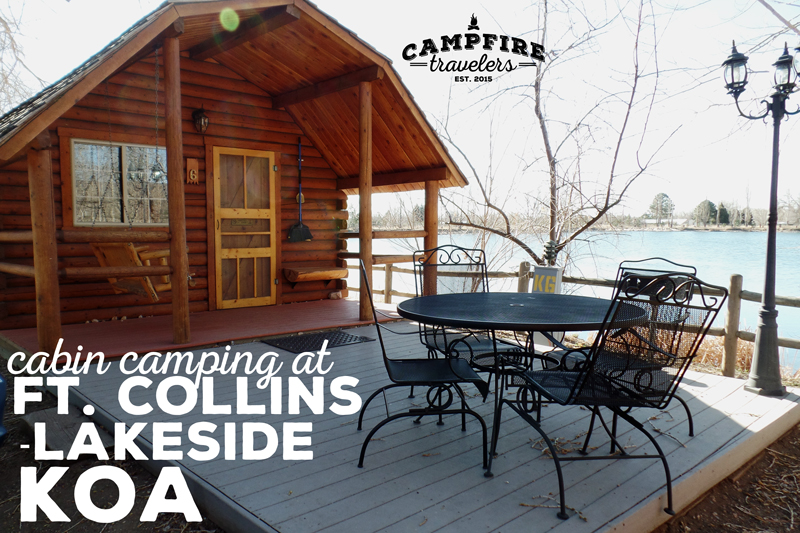 Cain Camping at Ft. Collins/Lakeside KOA