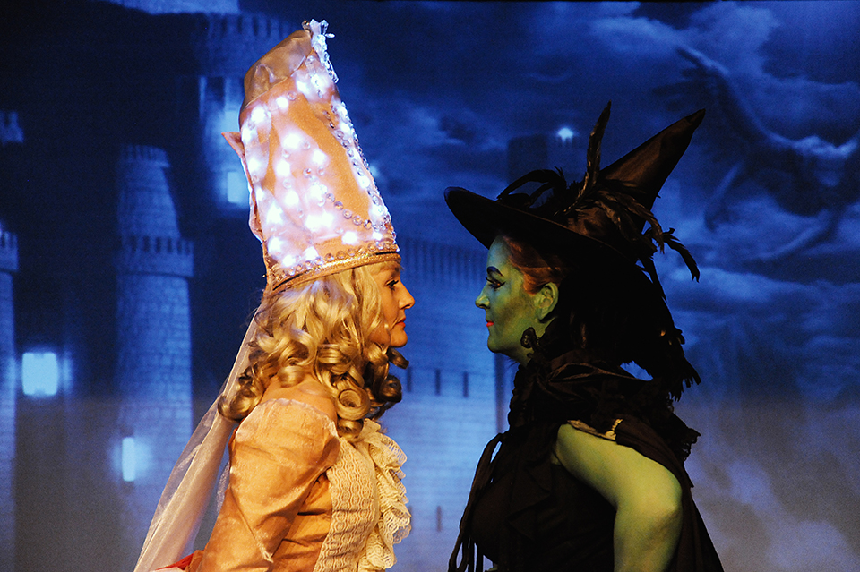 The Wicked Witch is powerless against Glinda