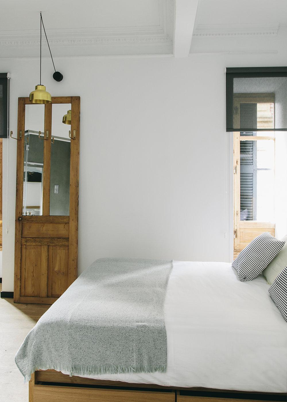 Habitación con cama Queen size