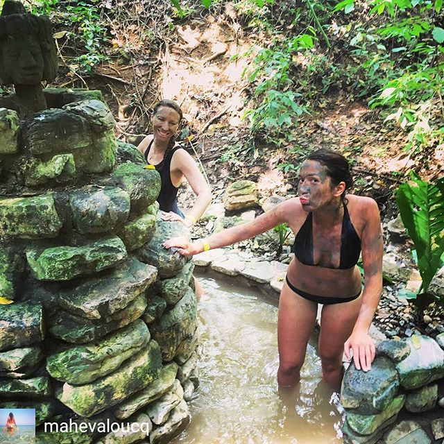 Maheva is a non-stop traveller  and she ALWAYS wear a LOOK AT LOU 😍 👙🌴🌼🐬 @mahevaloucq  #lookatlou #bikinilife #traveller #friend #adventure #jungle  Regram from @mahevaloucq -  Tucked away behind Copan are hot springs. Admits the jungle you can lather up in clay directly from the soil and bath in the warm waters of the multiple pools all around. #travelgram #localspa #hotsprings #honduras #centralamerica #beautifuldestinations #travel #discover #shetravels #picoftheday #explore - #regrann