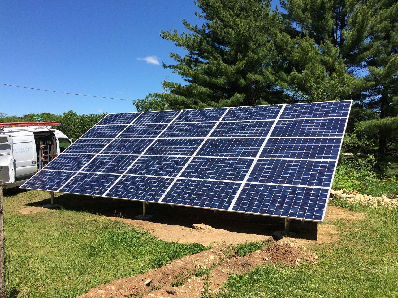 The Benefits of Ground-Mount Arrays — Drews Solar - Madison, WI