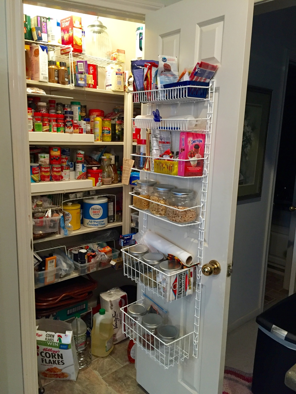a kitchen into or pantries dream cabinets pantrys with ideas disorganized is organizers these great cluttered pantry pin your best larder turn and storage nightmare