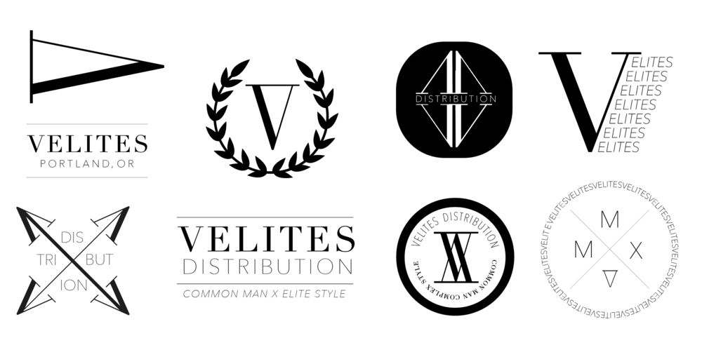 icons and logo iterations