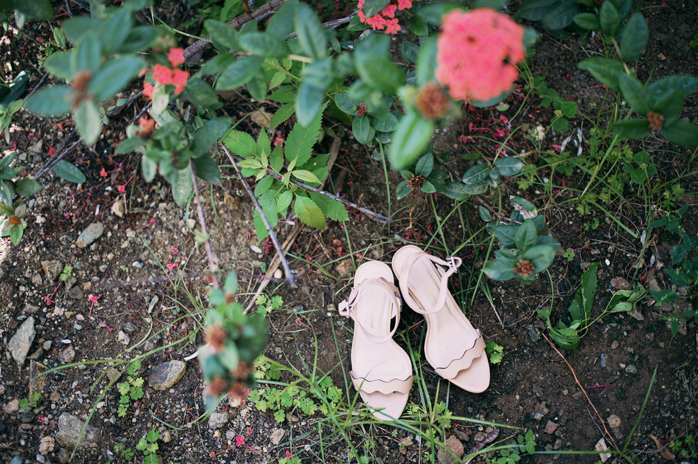 St Thomas USVI wedding shoes