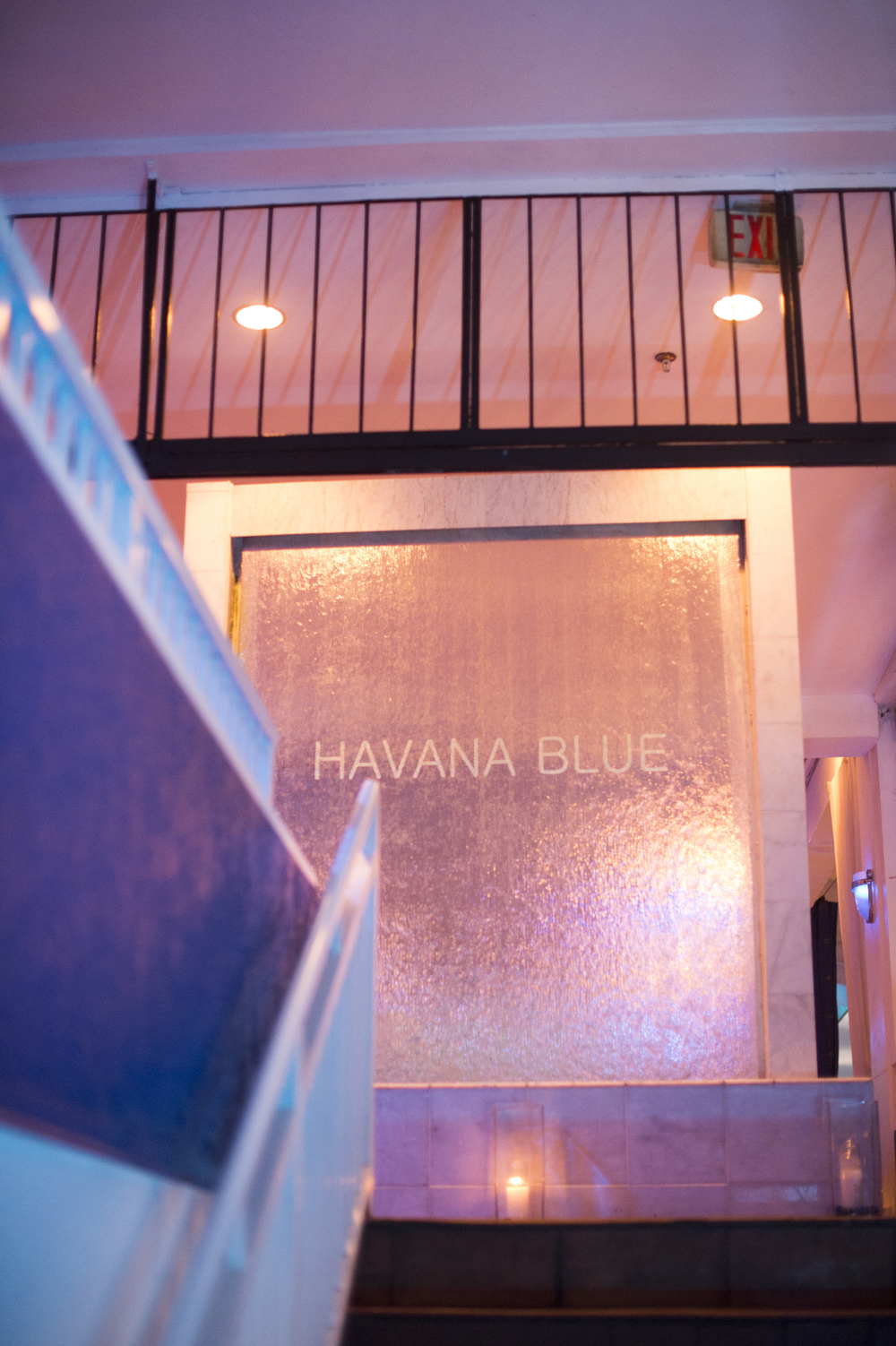 havana blue wedding