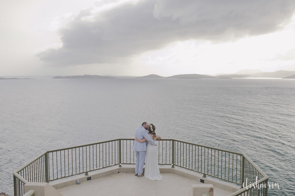bride-and-groom-with-a-view-of-ocean-taken-in-st-john-by-elisha-orin-photography