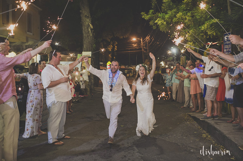 bride -and-groom-running-though-sparklers-in-st-john-usvi