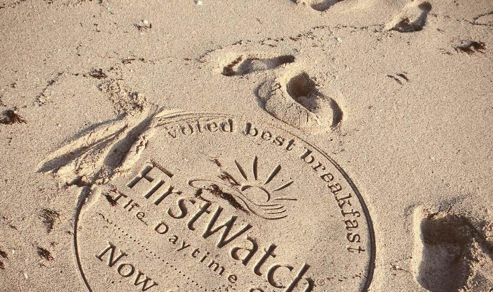 sand Stamping, Sand Tagging, Beach Advertising