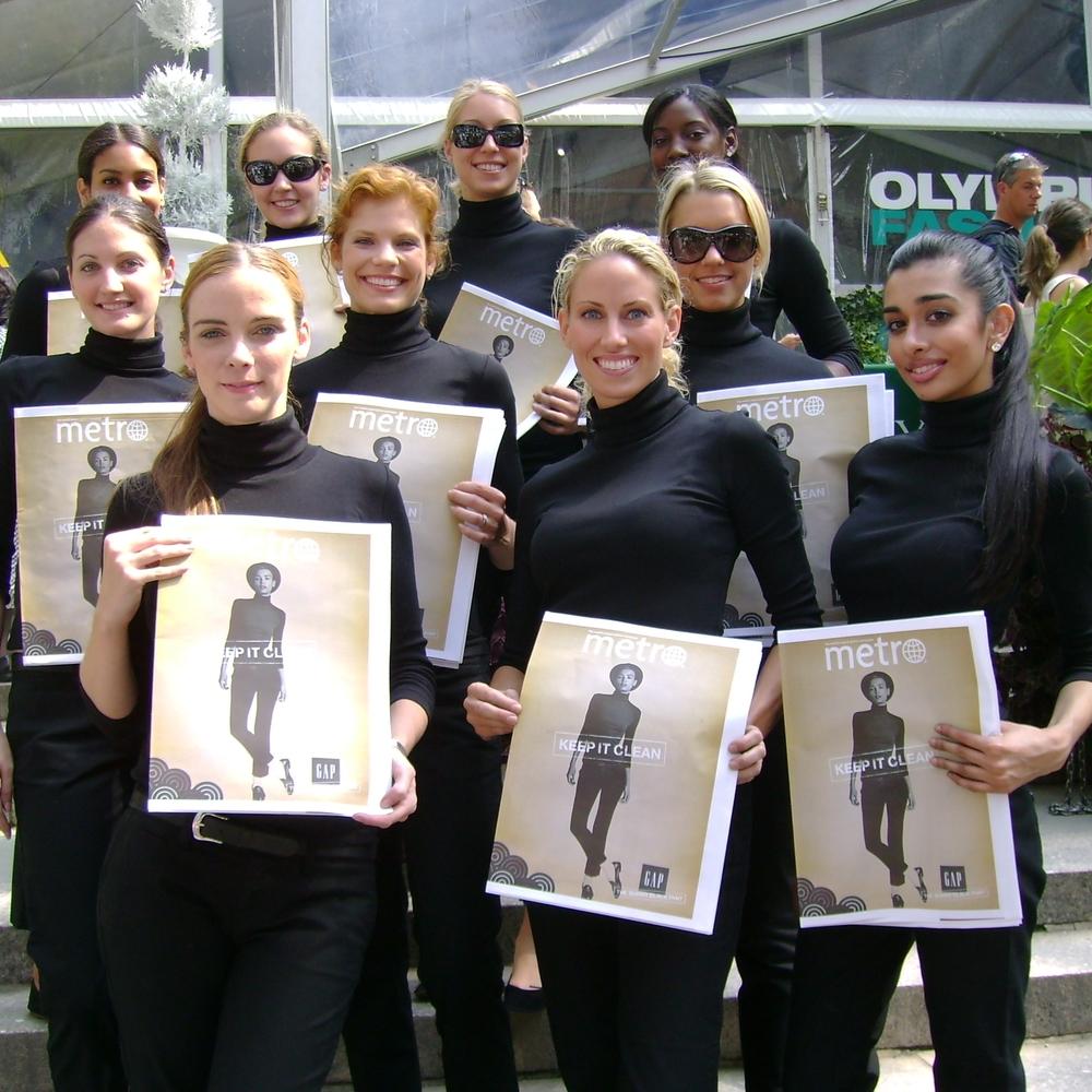 Attractive Street team Brand Ambassodors