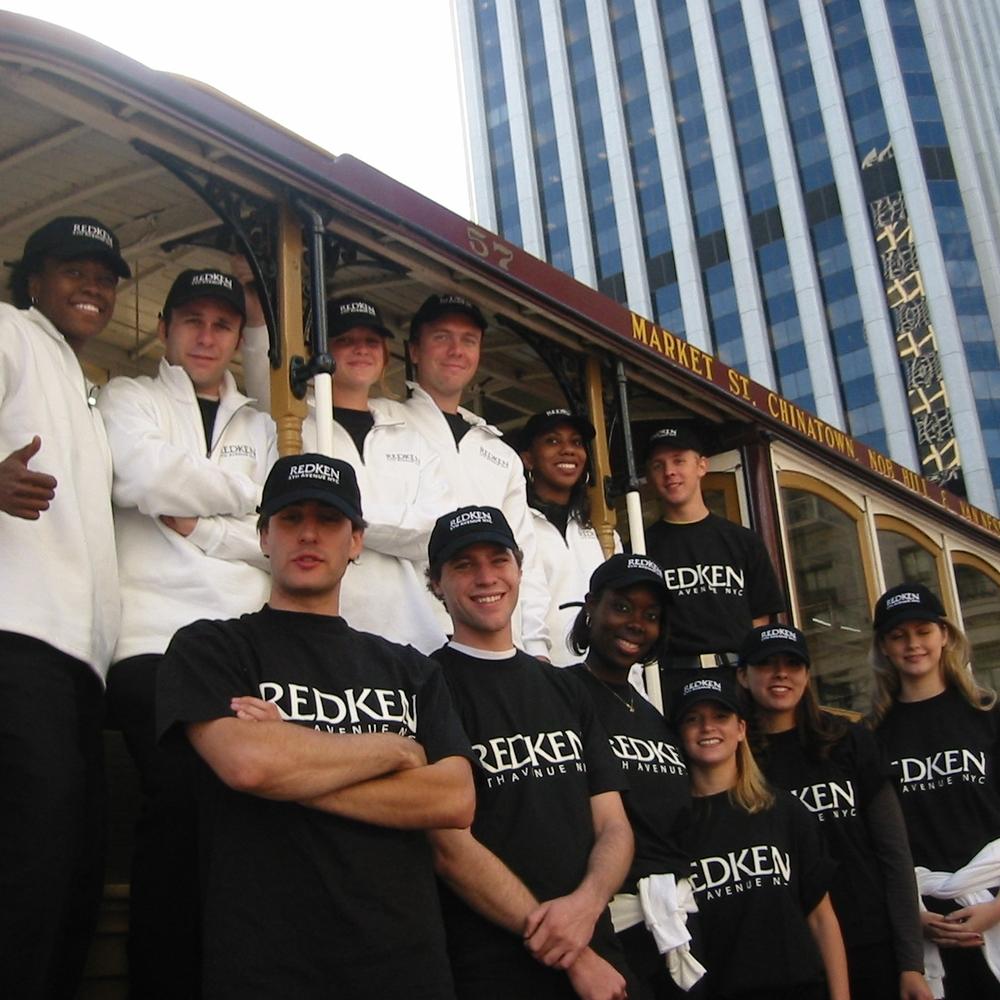 Large street team