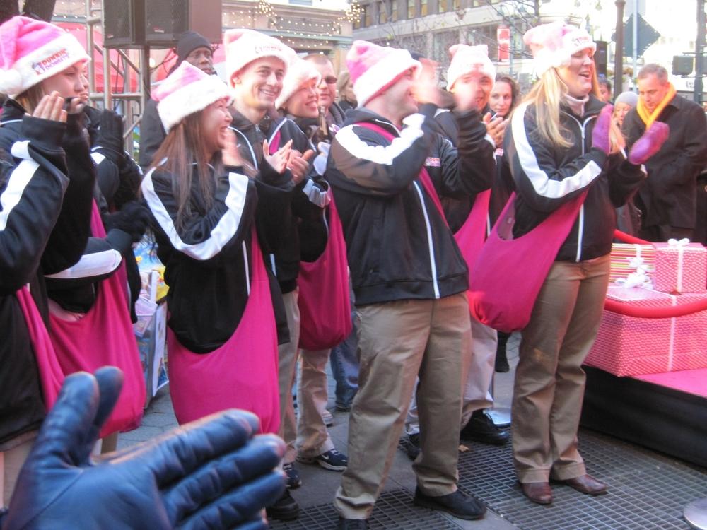 Holiday Street team costumes