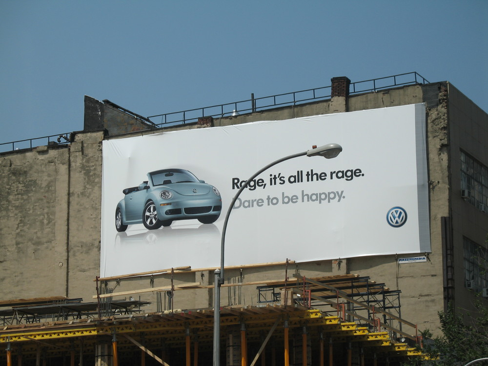 West side highway billboard