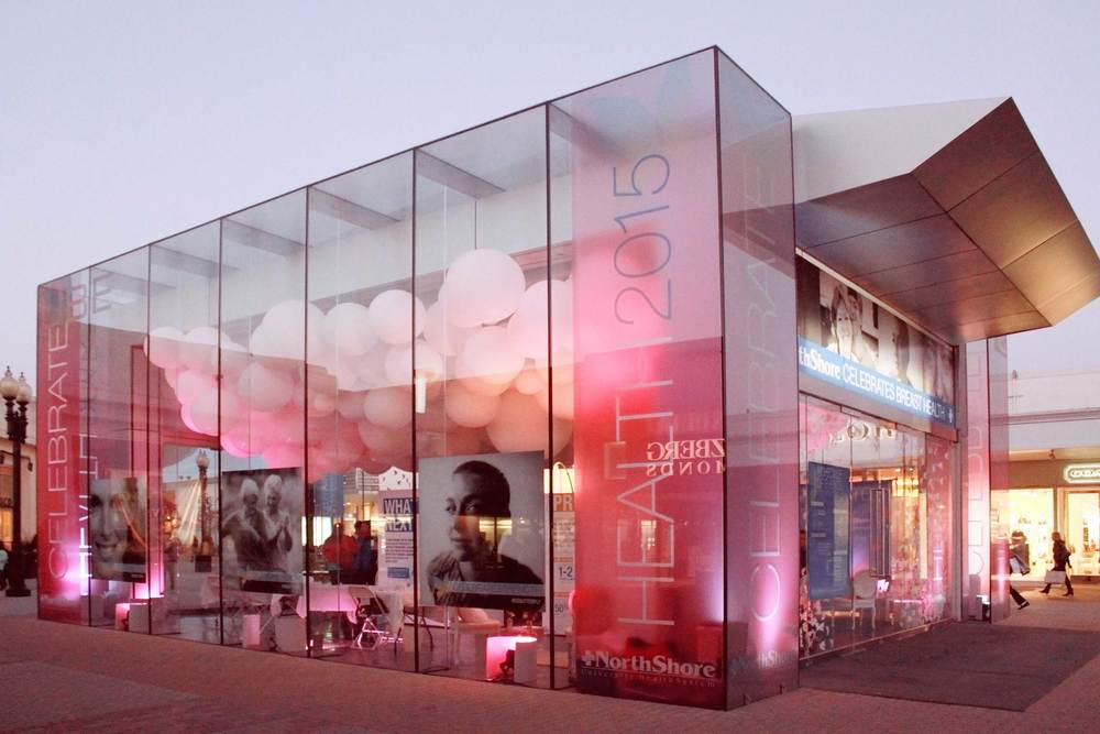 Pop up stores branded environments