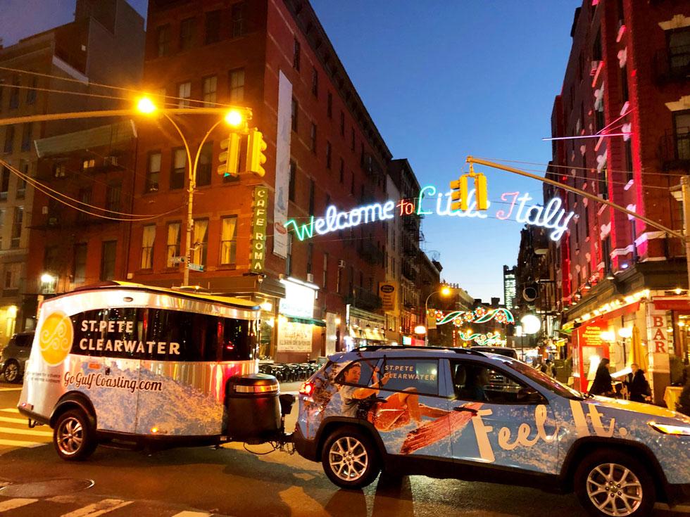 Airstream Marketing Tour