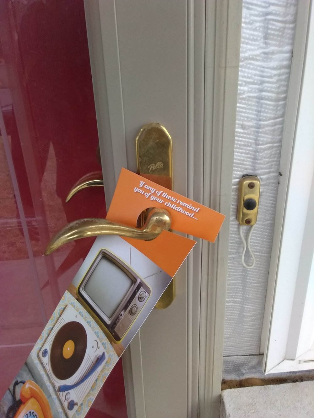 residential door hangers