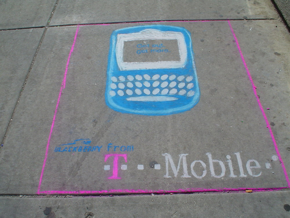 cell phone advertising ideas