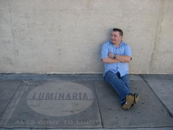 luminaria with artist.jpg