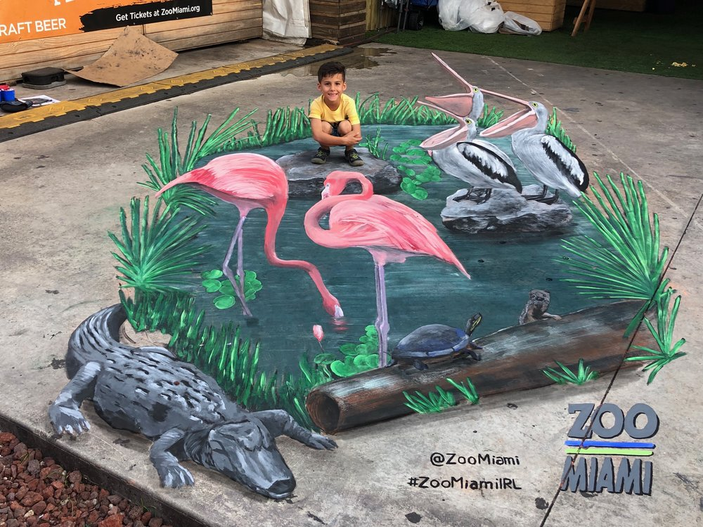 Massivemedia has professional chalk artists ready to create a chalk art masterpiece for your event.