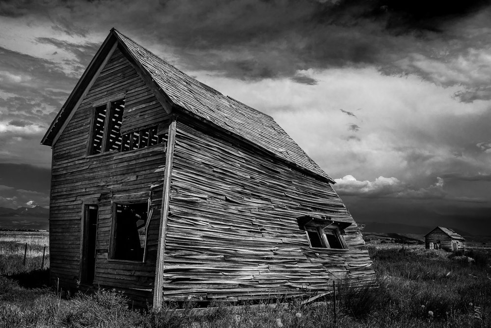 Was directed to this location by photographer Geraint Smith. It's somewhere in the San Luis Valley, Colorado. Was only last summer but I wonder if it's still there.