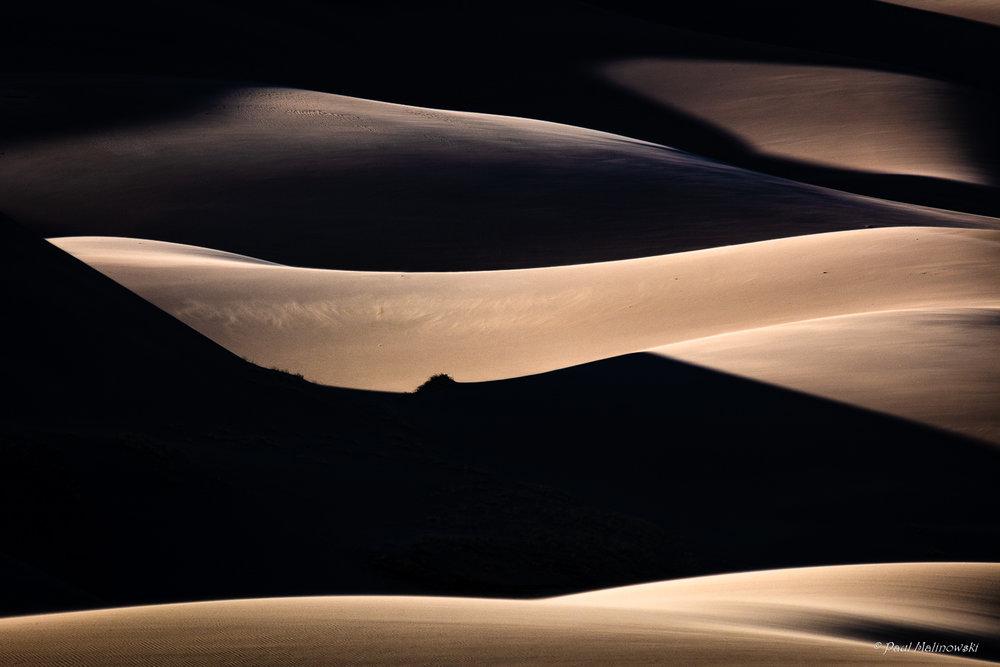 dunes shadows