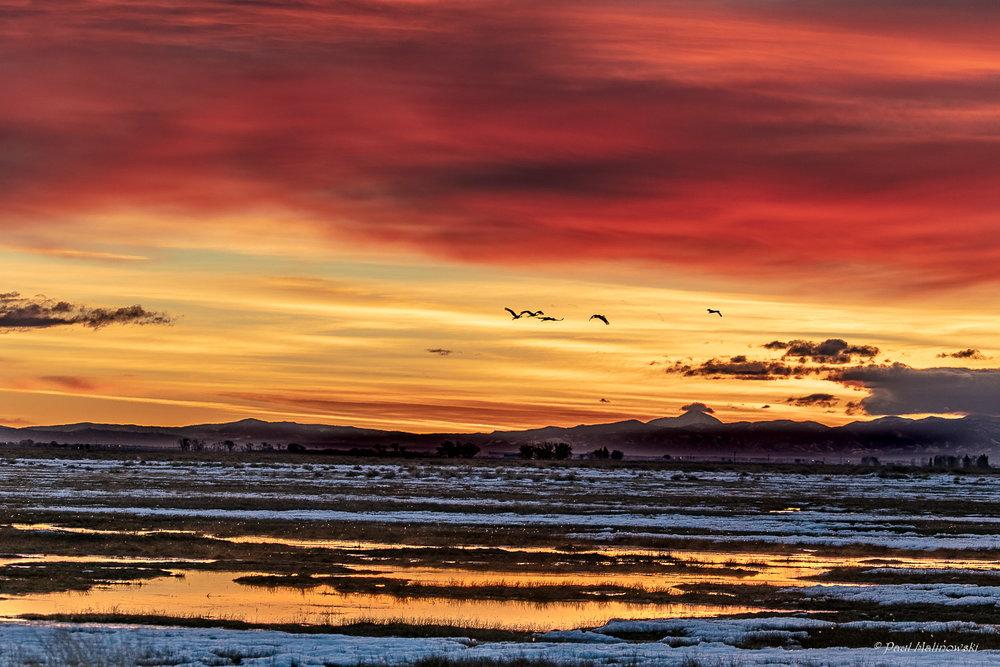 valley sunrise
