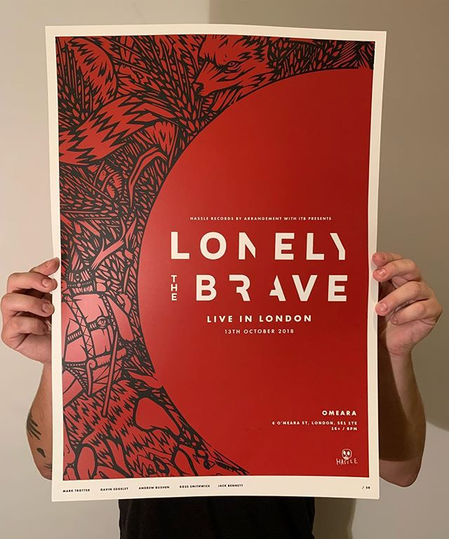 Great to be sent a pic our work in physical form! Awesome to work with @lonelythebrave. Here's to many more! . . . #graphicdesign#design#art#graphic#typography #artwork #brand #brandidentity #branding #creative #creatives #designers #graphic #UX #UI #icon #illustration #inspiration #typography #photoshop #sketch