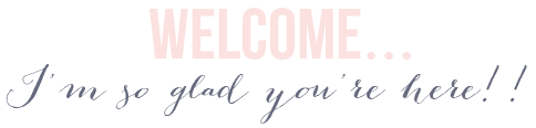 welcome! so glad