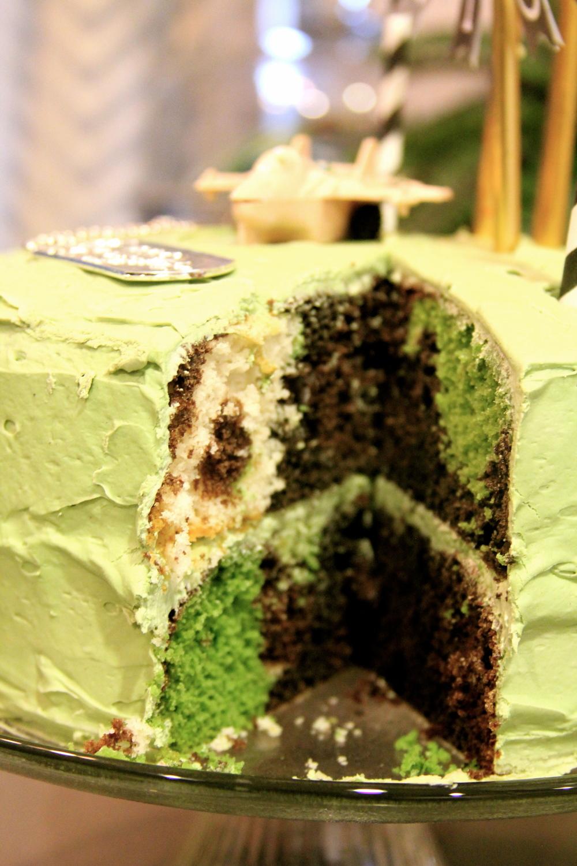 making a camouflage birthday cake tutorial teresa swanstrom