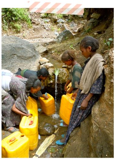 ethiopia - water walk