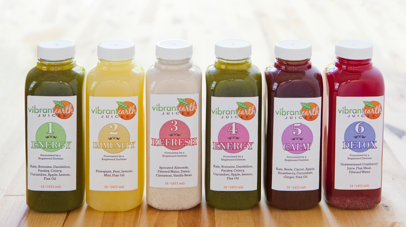 vibrant earth juices