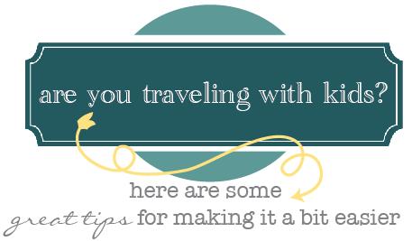 kids travel tips