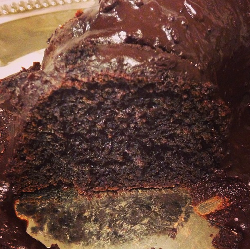 quinoa chocolate cake 1