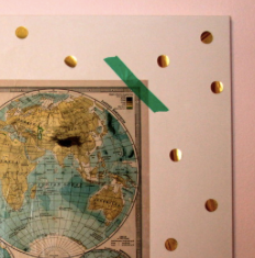 gold circle stickers . . office depot | map . . paper source |