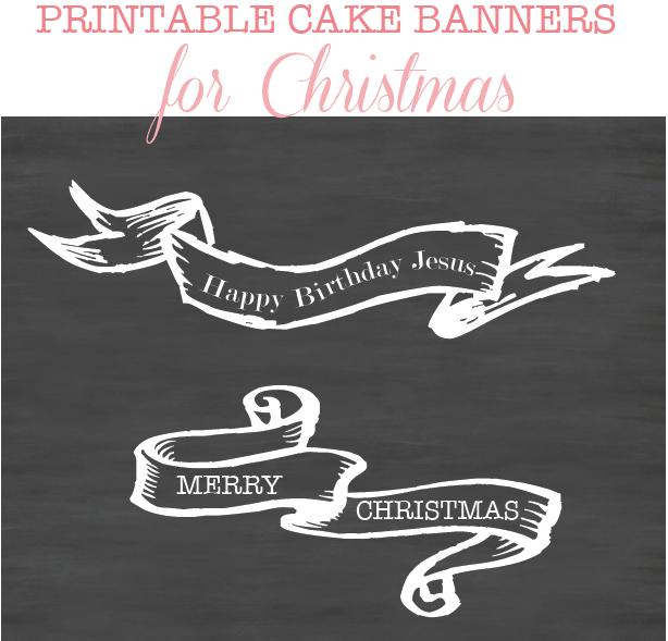 printable banner