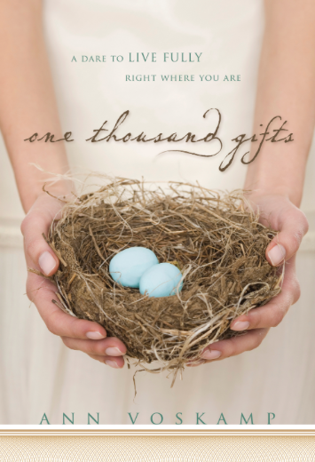 one thousand gifts book