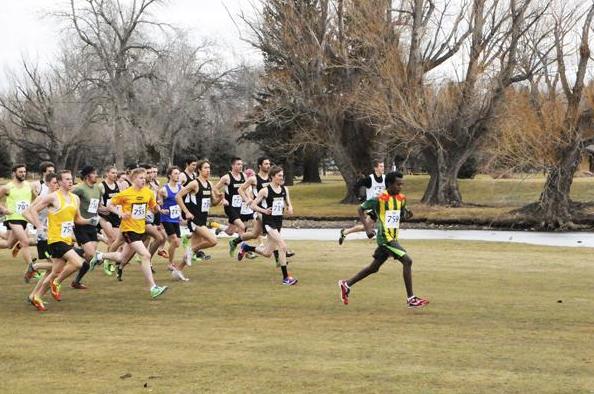 A running 2