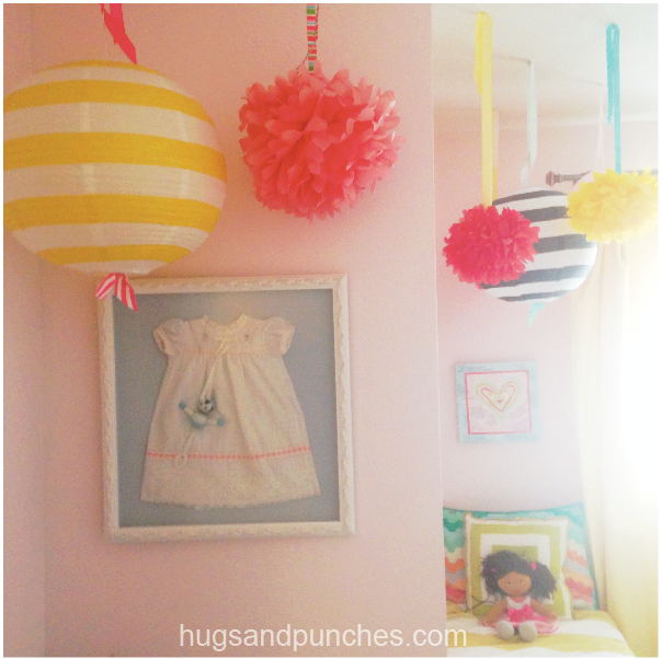 vintage inspired little girl's room