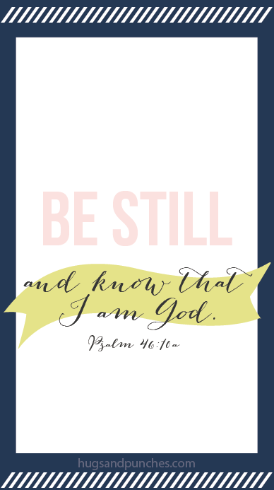 memory verse-screenshot-be still and know-blue