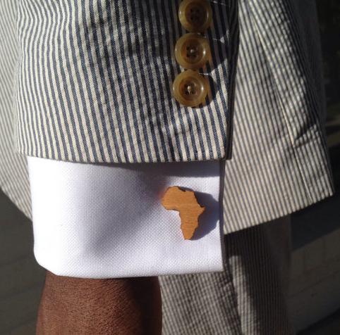 africa cufflinks