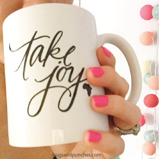 take joy