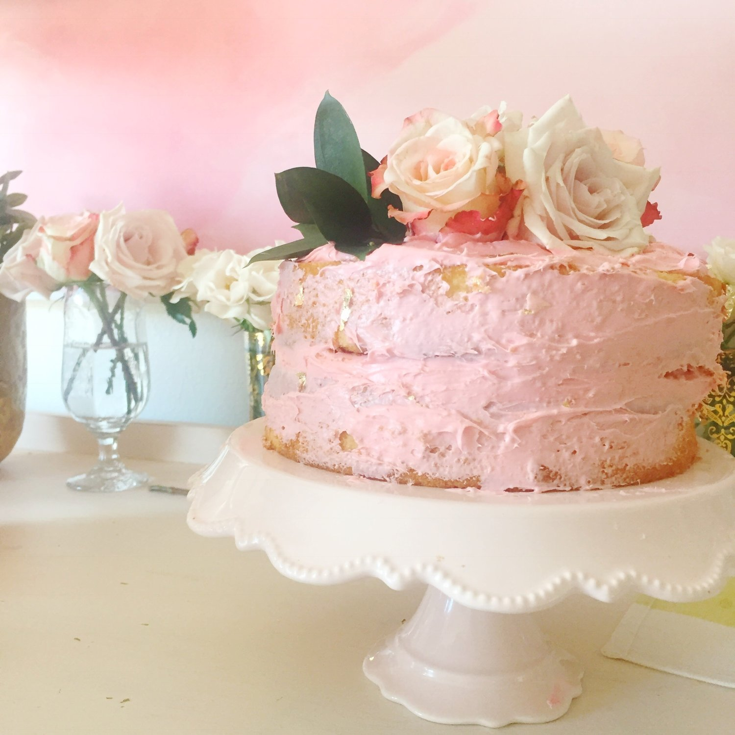 My secret trick to making a Naked Cake — teresa swanstrom anderson