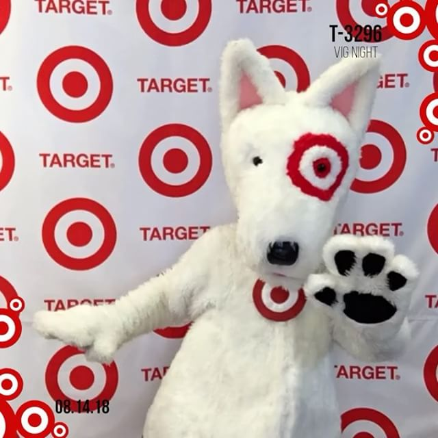 The last @target store opening I went to was a very long time ago... however this was the best opening party I've ever been to!  Thank you for having us and #Congratulations @feelthebeirne #target #3296 #haddontownship #bullseye #targetbullseyedog